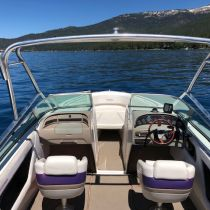 Tahoe Boat & RV Rents, 24ft Chaparral Boat