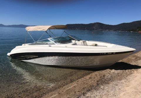 Tahoe Boat & RV Rents, 25' Carevelle Cruiser