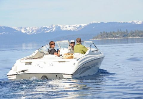 Tahoe Boat & RV Rents, 20' Seaswirl